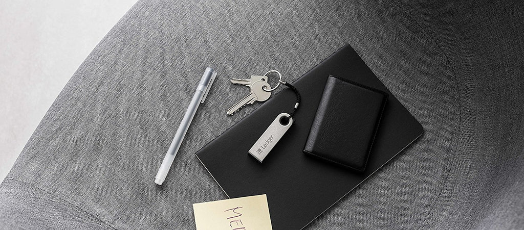 Ledger Nano S Cryptocurrency Hardware Wallet - Arvonic
