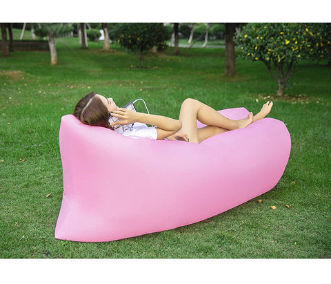 inflatable outdoor camping air bed, light