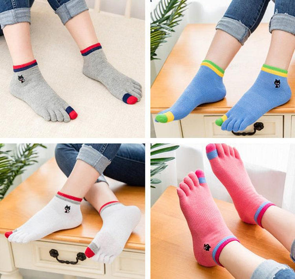 Winter Breathable Short Tubular Cotton Socks