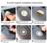 Multi Functional Magnetic Dashboard Car Holder