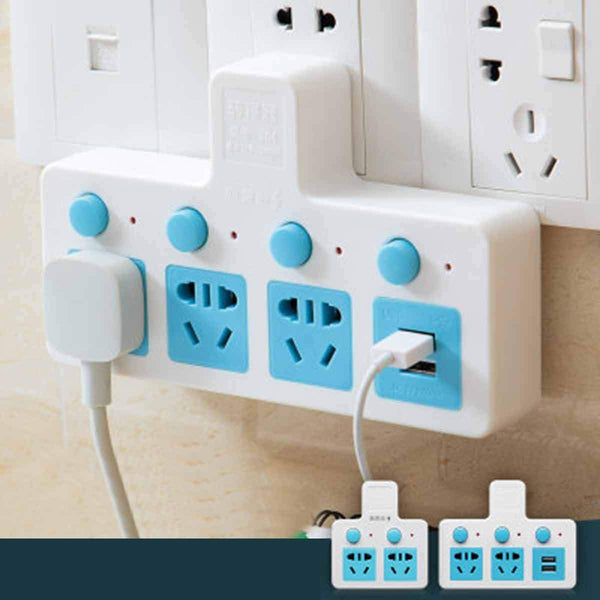 Wireless Multi-function USB Expansion Socket Converter
