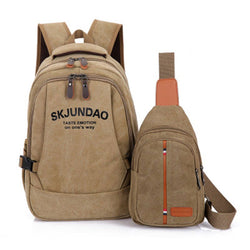Backpack, bag, school, college, office, home, capacious, nylon, polyester, small, large, medium