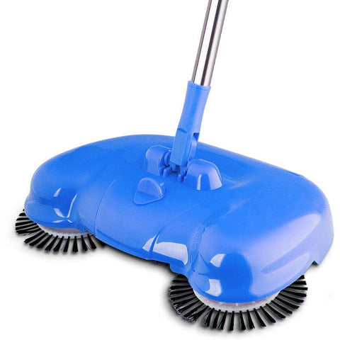 rotating sweeper, triple rotating brush, mop, broom