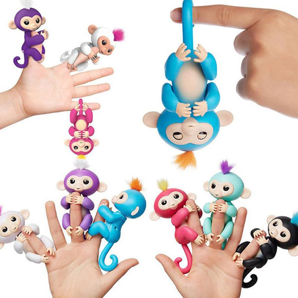 speak, talk, react, blink, move, game, toy, pet, monkey, clings, children