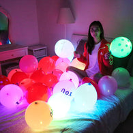 Multicolour LED Romantic Room Balloons