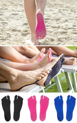 adhesive, sticky, grip, footwear, travel, beach, road, shoes