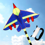 Cartoon Aircraft Fighter Kite