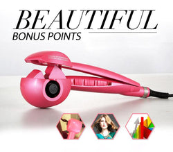 beauty, electric, hair curler, curling machine, ceramic, automatic