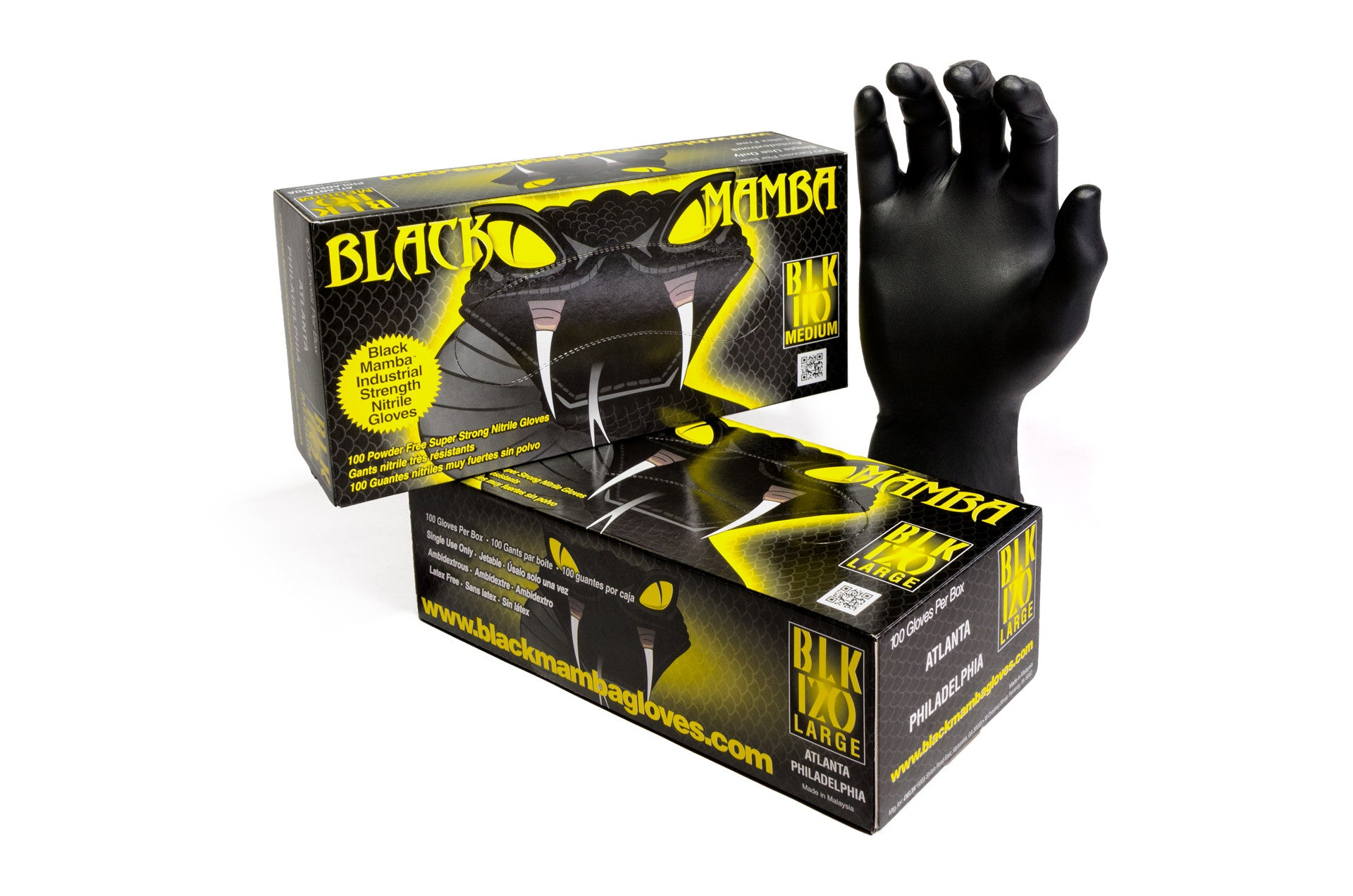 Black Mamba Nitrile Gloves