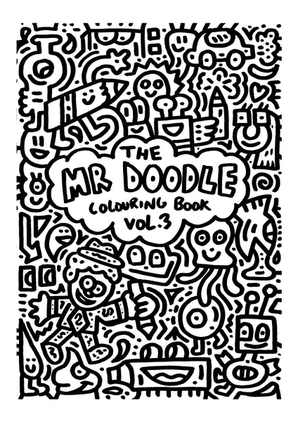Mr Doodle colouring book volume 3