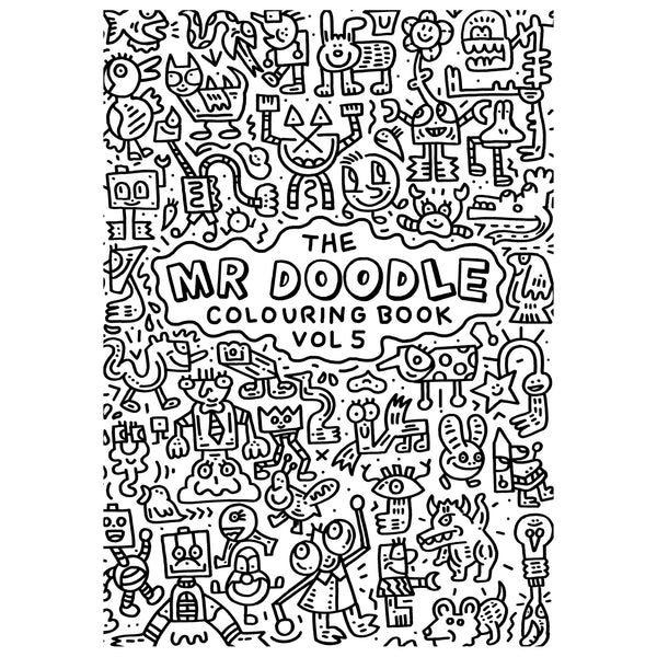 Mr Doodle Colouring Book Vol 5