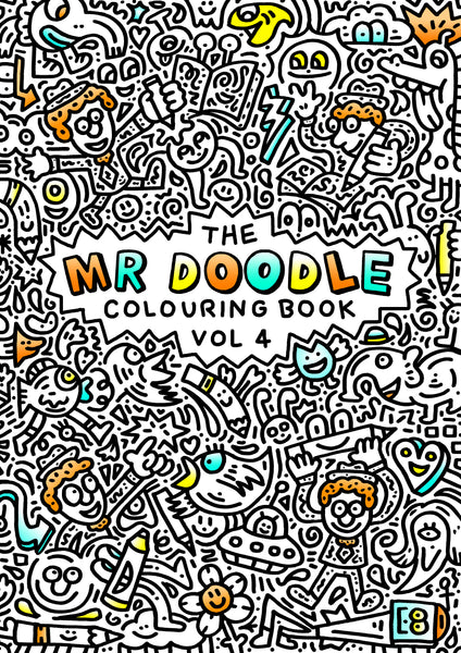 Mr Doodle Colouring Book Vol 4