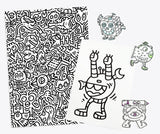 Mr Doodle T-Shirt Deluxe Pack (White)