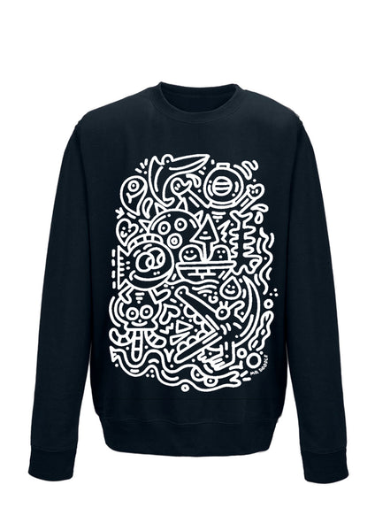 (PRE ORDER) 'Deep Sea Doodles' Sweater