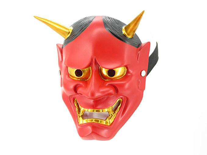 Red Oni Mask