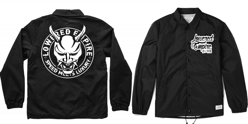 Speed Meets Luxury Coach Jacket With Hoodie Loweredempire