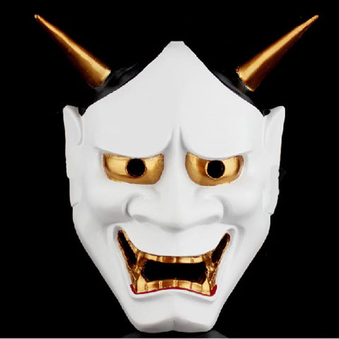Limited Lowered Empire White Oni Mask