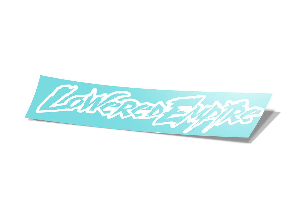 "25"" Aggressive Lowered Empire Banner"