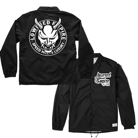 Lowered Empire Logo Windbreaker Coach Jacket