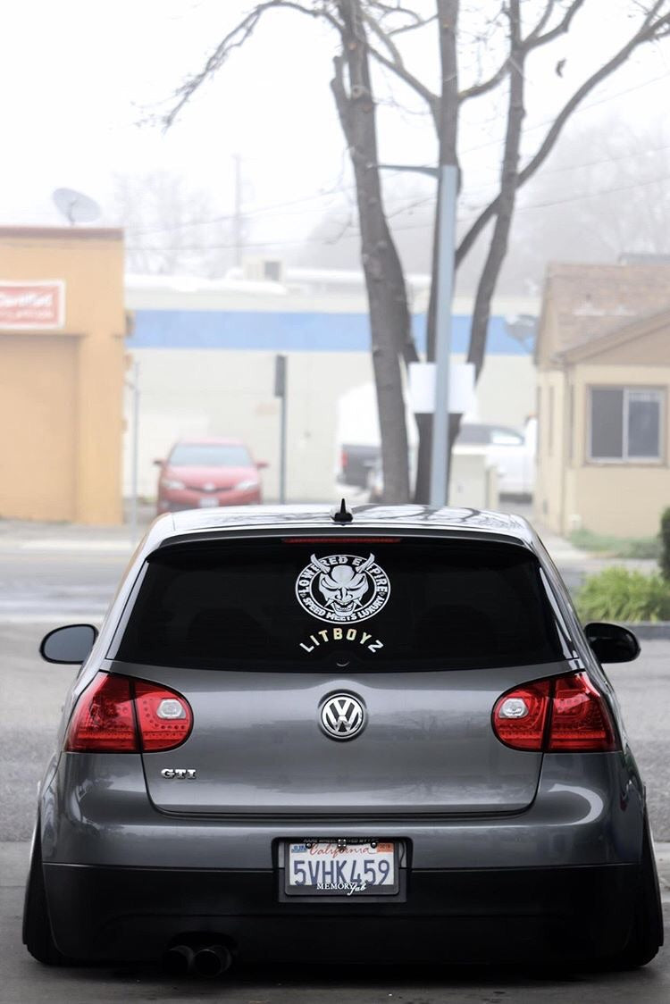 "10""-16"" Lowered Empire Logo Decal"