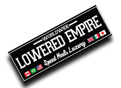 World Wide Lowered Empire Slap