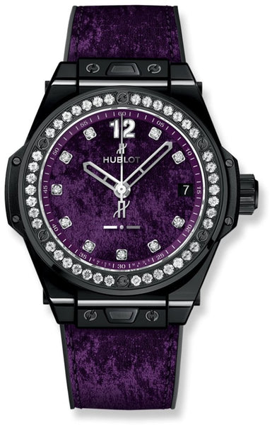 Hublot Big Bang One Click Italia Independent Purple Velvet - Watches World