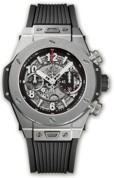 Hublot Big Bang Unico Titanium Chronograph Flyback - 45mm - 411.NX.1170.RX - New - 2019 - Watches World