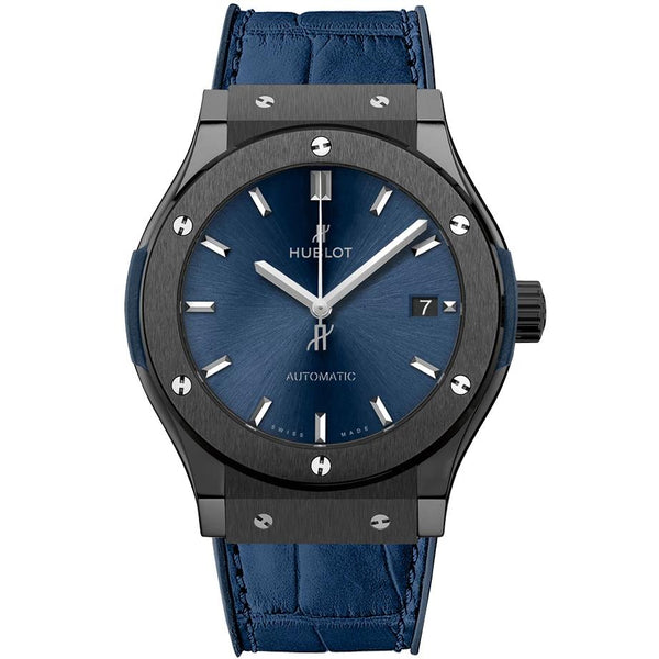 Hublot Classic Fusion Ceramic Blue - 42mm - 542.CM.7170.LR - 2019 - New - Watches World