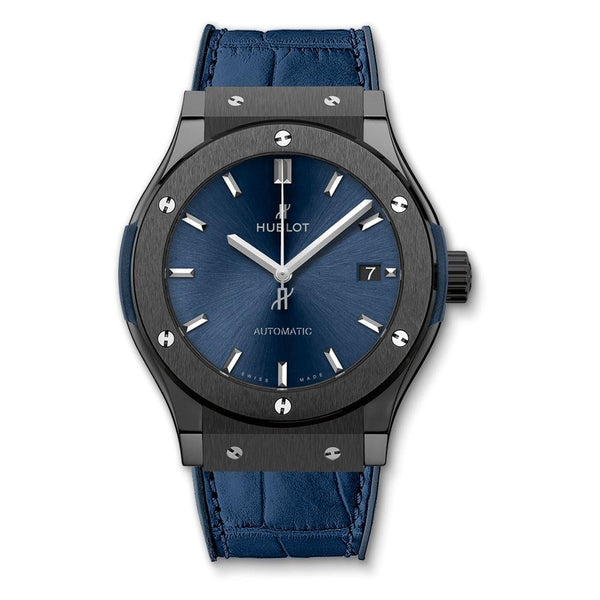Hublot Classic Fusion Blue Ceramic 45mm - 511.CM.7170.LR - 2019 - New - Watches World
