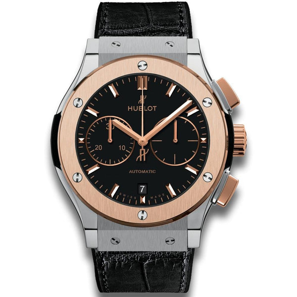 Hublot Classic Fusion Chronograph Titanium King Gold - Watches World