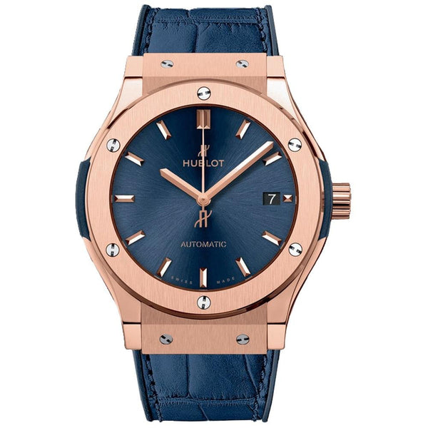 Hublot Classic Fusion King Gold Blue - Watches World