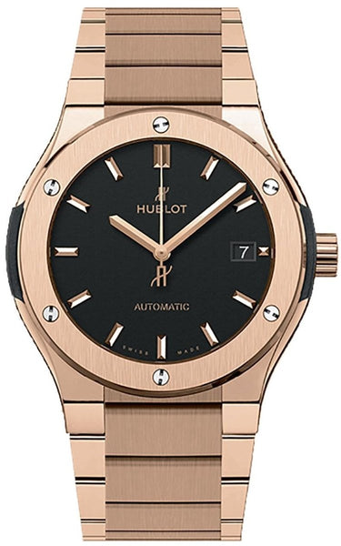 Hublot Classic Fusion King Gold Bracelet 45mm - Watches World