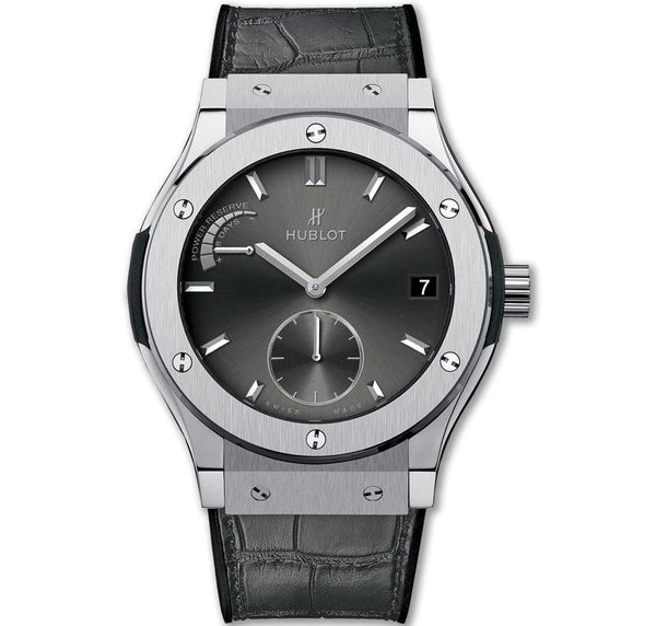 Hublot Classic Fusion Racing Grey Power Reserve Titanium - Watches World