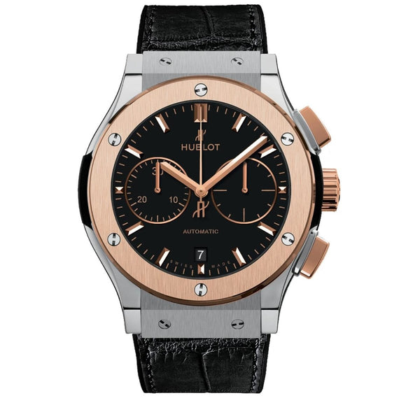 Hublot Classic Fusion Titanium King Gold Chronograph - Watches World