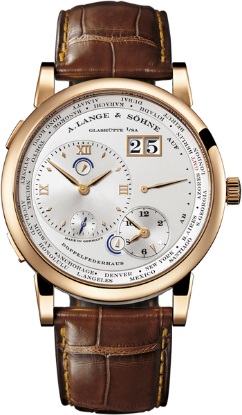 A. Lange & Söhne Lange 1 Time Zone Rose Gold LNIB 42mm 116.032