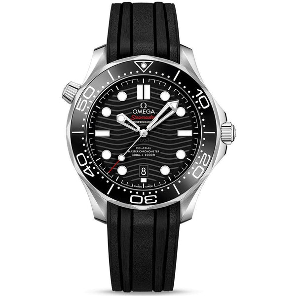 Omega Seamaster Diver 300M Co-Axial Master Chronometer - 42mm - 210.32.42.20.01.001 - New - 2019 - Watches World