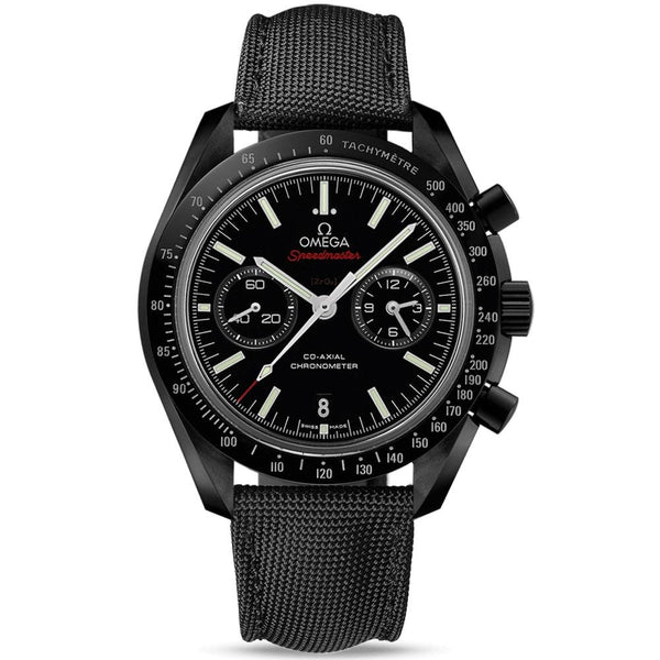 Omega Speedmaster Moonwatch Co-Axial Chronograph Dark Side Of The Moon - 311.92.44.51.01.007 - New - 2019 - Watches World