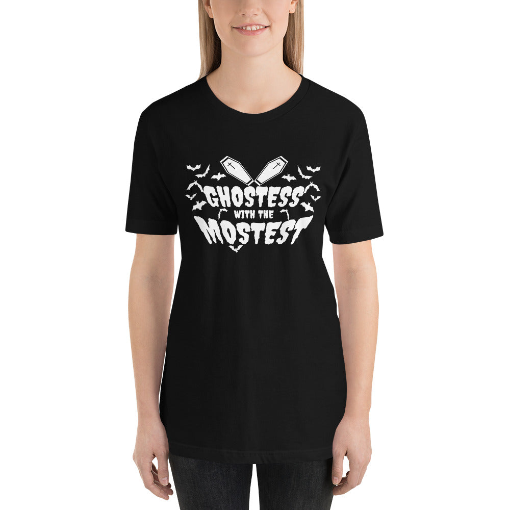 GHOSTESS WITH THE MOSTEST Short-Sleeve Unisex T-Shirt