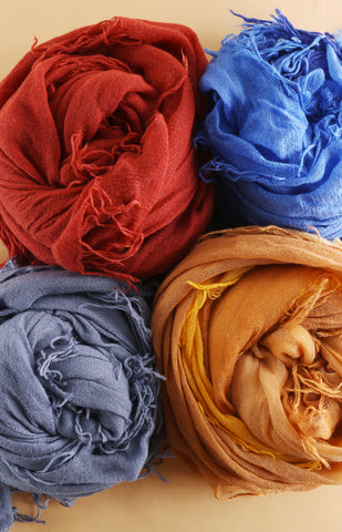 Prepare For Fall With Scarves!