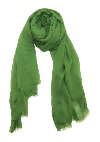 Blue Pacific Scarf in Bright Green