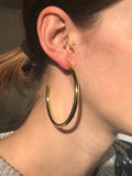 Sheila Fajl Everybody's Favorite Hoop Earrings in Polished Gold