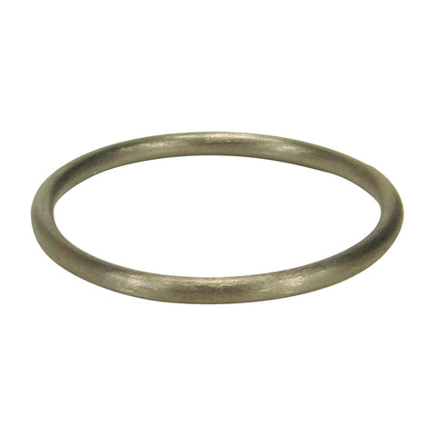 Sheila Fajl Thin Tubular Bangle Bracelet in Gunmetal