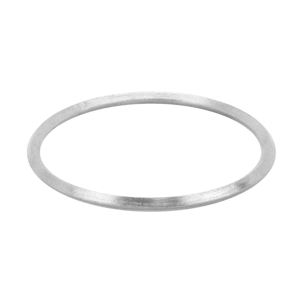 image of Sheila Fajl Pyramid Bangle Bracelet in Silver Plated