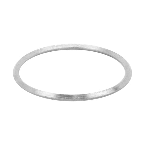 Sheila Fajl Pyramid Bangle Bracelet in Silver Plated