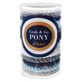 image of L. Erickson Grab and Go Pony Tube in Atlantic Mix 15 Pack in gift tube