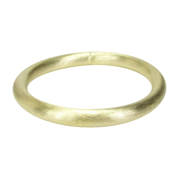 Front View of Sheila Fajl Everybody's Favorite Tubular Bangle in Gold