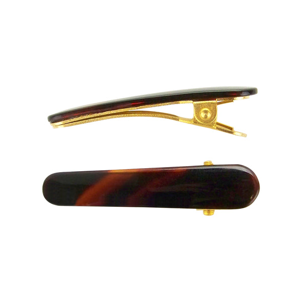 Ficcare Ficcaritos Hair Clip Pair in Tortoise