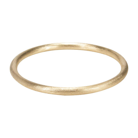 Sheila Fajl Thin Tubular Bangle in Champagne