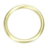 Overhead View of Sheila Fajl Everybody's Favorite Tubular Bangle in Gold