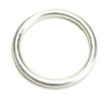 Overhead View of Sheila Fajl Everybody's Favorite Tubular Bangle in Silver